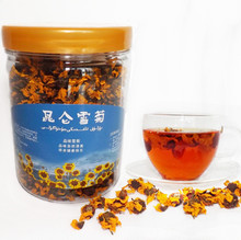 100 g  free shipping xinjiang kun lun snow daisy chrysanthemum flower tea 100% natural herbal tea