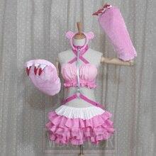 Anime New Hot Sexy Custom Made Super Sonico GRG Racing Queen Genus Gloomy Bear Cosplay Costume