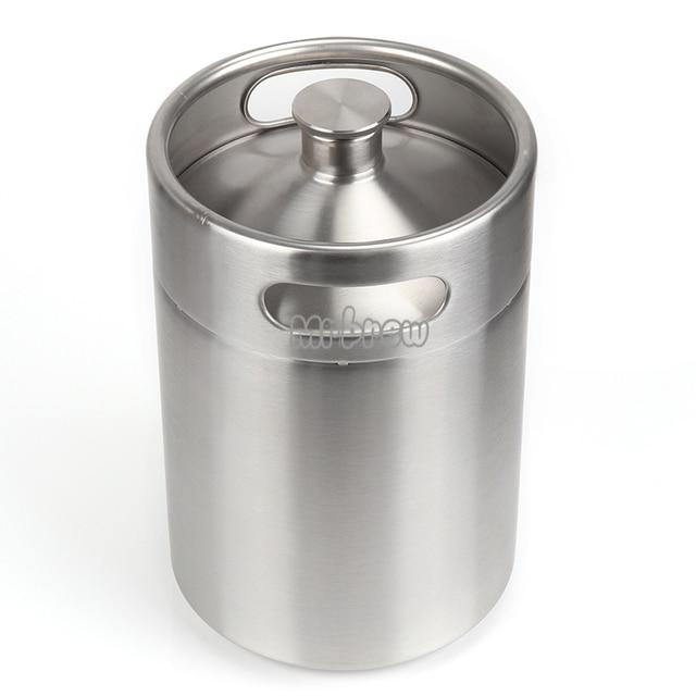 Stainless Steel Beer Mini Keg Set 3