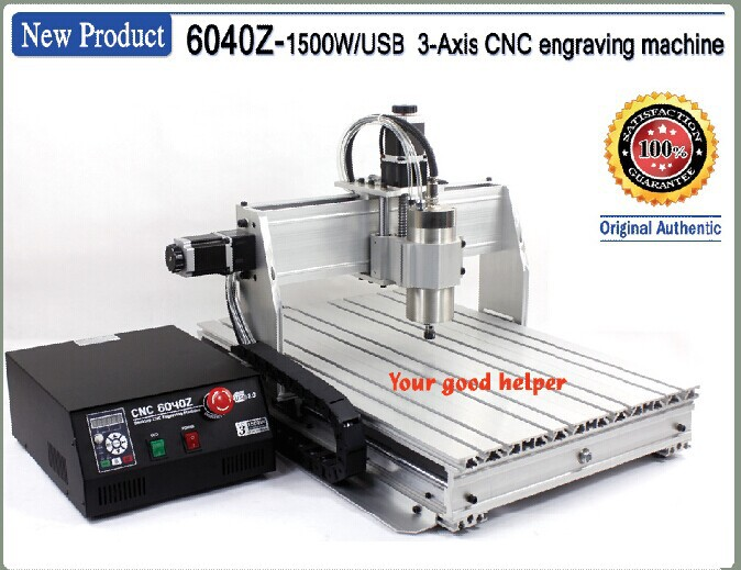 цена на From EU /Free VAT NEW 3 axis 6040 1500W USB MACH3 CNC ROUTER ENGRAVER/ENGRAVING DRILLING AND MILLING MACHINE 220VAC