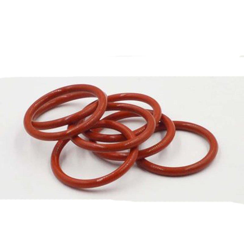 3pcs 5.7mm Wire diameter Red silicone waterproof ring Seal O-ring High temperature resistance 30mm-60mm Outer diameter