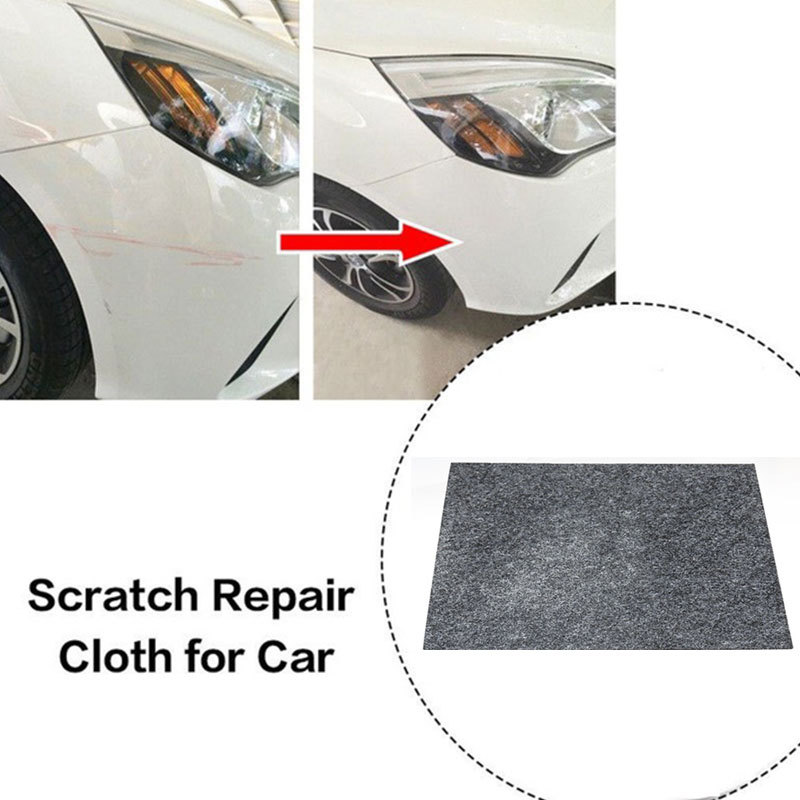 Universal Car Scratch Repair Polish Cloth Fix Clear Magic Polish Cloth For Paint Scratches Remover Scuffs On Surface Repair Tool