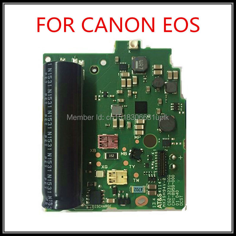 Free shipping 100% NEW original  DSLR Camera FOR Canon 650D EOS Rebel T4i EOS Kiss X6i-2 power board repair parts( new lcd display screen for canon eos 750d kiss x8i rebel t6i 760d kiss 8000d rebel t6i digital camera repair part touch