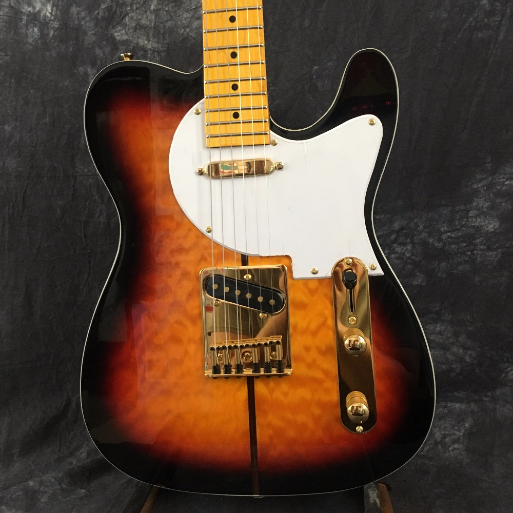 Electric guitar / TL TUFF DOG Guitars ra / OEM yellow / Sunburst Color OEM electric guitar / Guitars in China