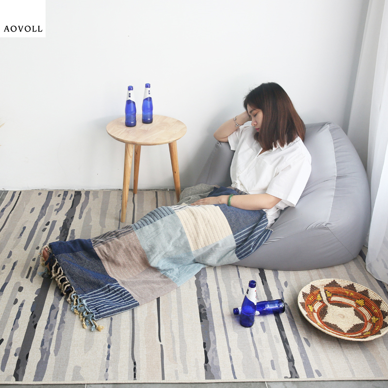 AOVOLL Simple Soft Delicate Carpets For Living Room Bedroom Kid Room Rugs Home Carpet Floor Door Mat Hot Sale Fashion Area RugAOVOLL Simple Soft Delicate Carpets For Living Room Bedroom Kid Room Rugs Home Carpet Floor Door Mat Hot Sale Fashion Area Rug