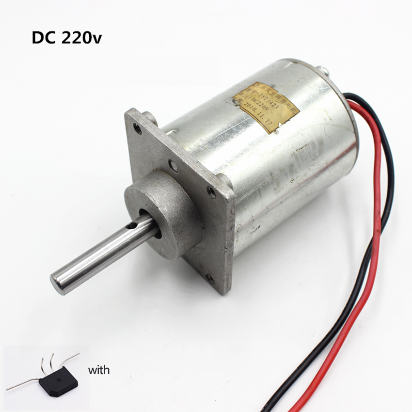 Electrical Equipments & Supplies Home Improvement Dc24v-220v 2700rpm 220 Micro Motor Carbon Brush Ball Bearing 12-pole Rotors Mute Experimental Generator Massage Chair Motor Diy