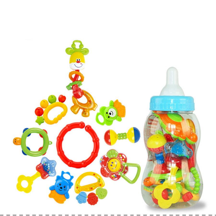 Musical Toys For 1 Year Old Plastic Rattles 0 12 Months