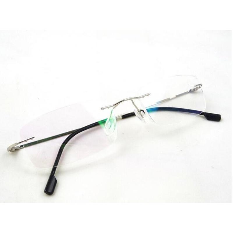 Titan Speicher 1 Freies 0 Teile Ultraleicht Randlose 6 Rahmenlose 10 Lesebrille Gläser Verschiffen los Myopie 00 Flexible qUwIXR