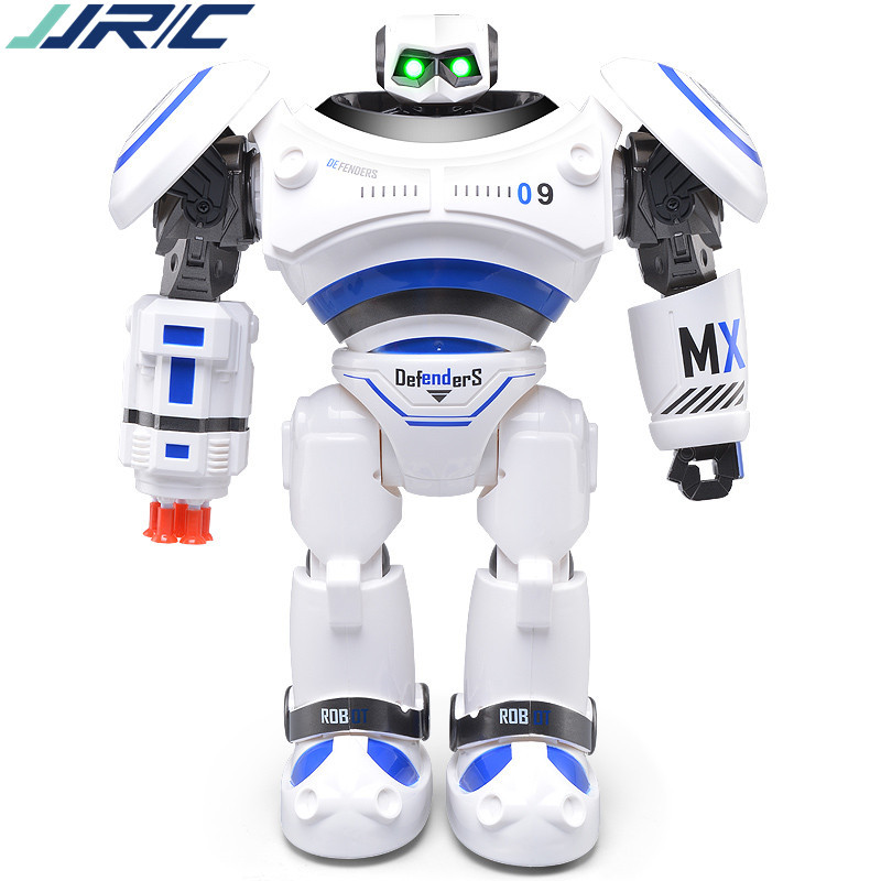 JJRC 333-VS12 remote control model of intelligent robot mecha X-Men battle robot dance music with sound and light Children's toy 5pcs lots 2017 film extraordinary corps mecha five beast hand collection model toy