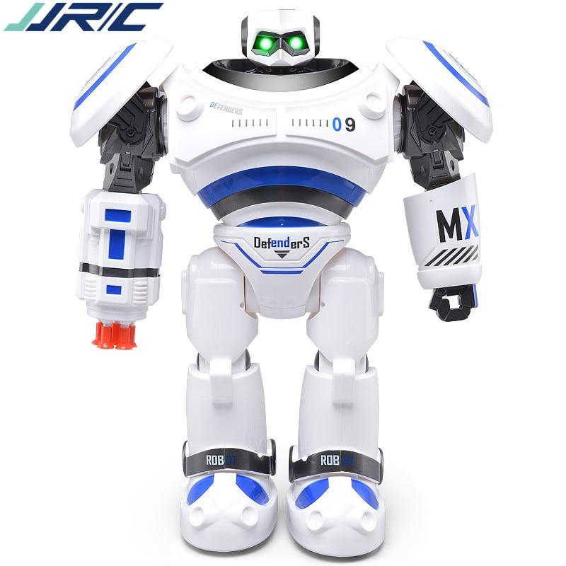 JJRC 333-VS12 remote control model of intelligent robot mecha X-Men battle robot dance music with sound and light Children's toy intelligent force and position control of 6 dof robot manipulator