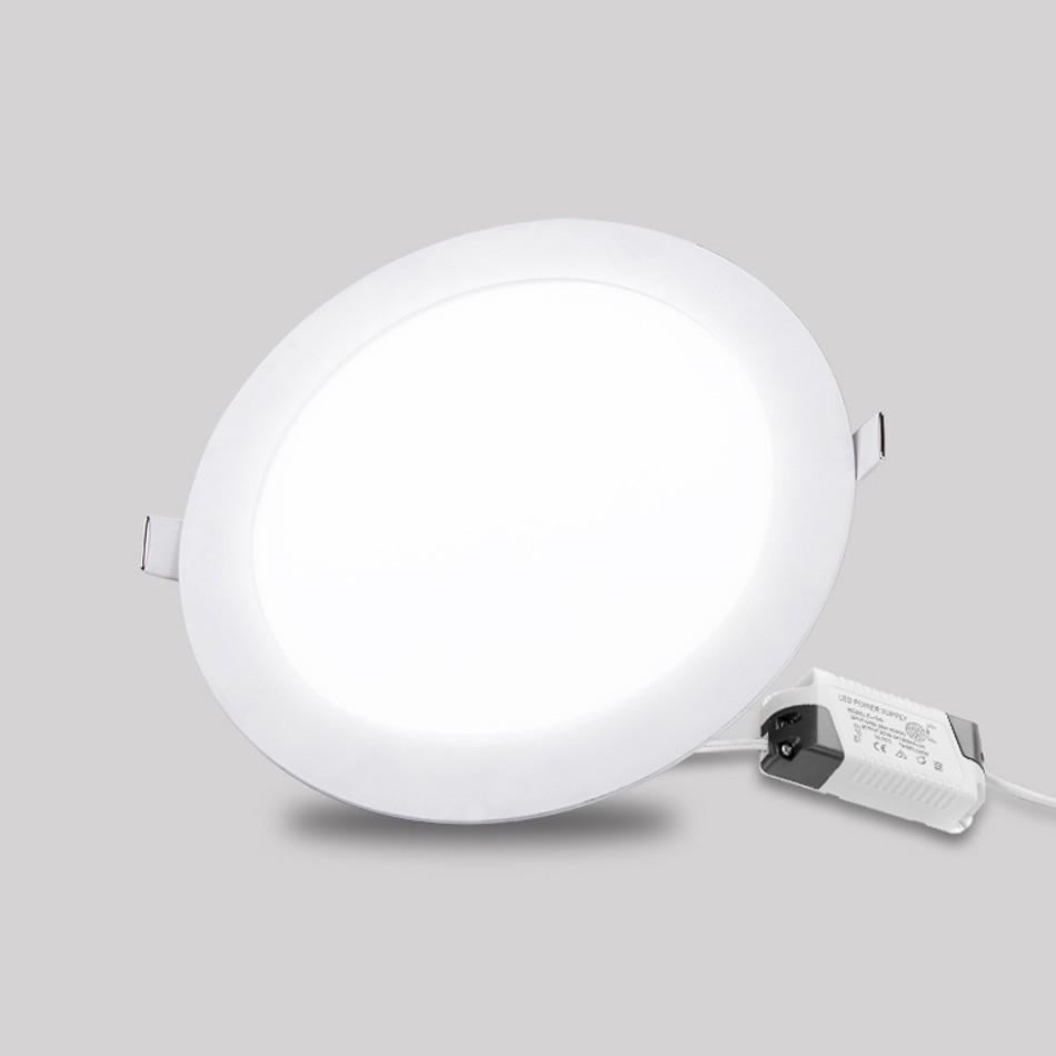 Ultra Thin LED Panel Light Round / Square Suspended SMD2835 LED Ceiling Spot Panels Lighting Bulb