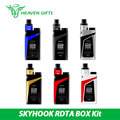 100% Original 220W SMOK SKYHOOK RDTA BOX Kit 9ml SKYHOOK RDTA Tank Atomizer w/ skyhooh BOX MOD 220W vs Smok alien/gpriv