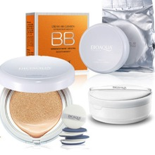 Air Cushion BB Cream Sunscreen Concealer Moisturizing Foundation Makeup Bare 2 Colors
