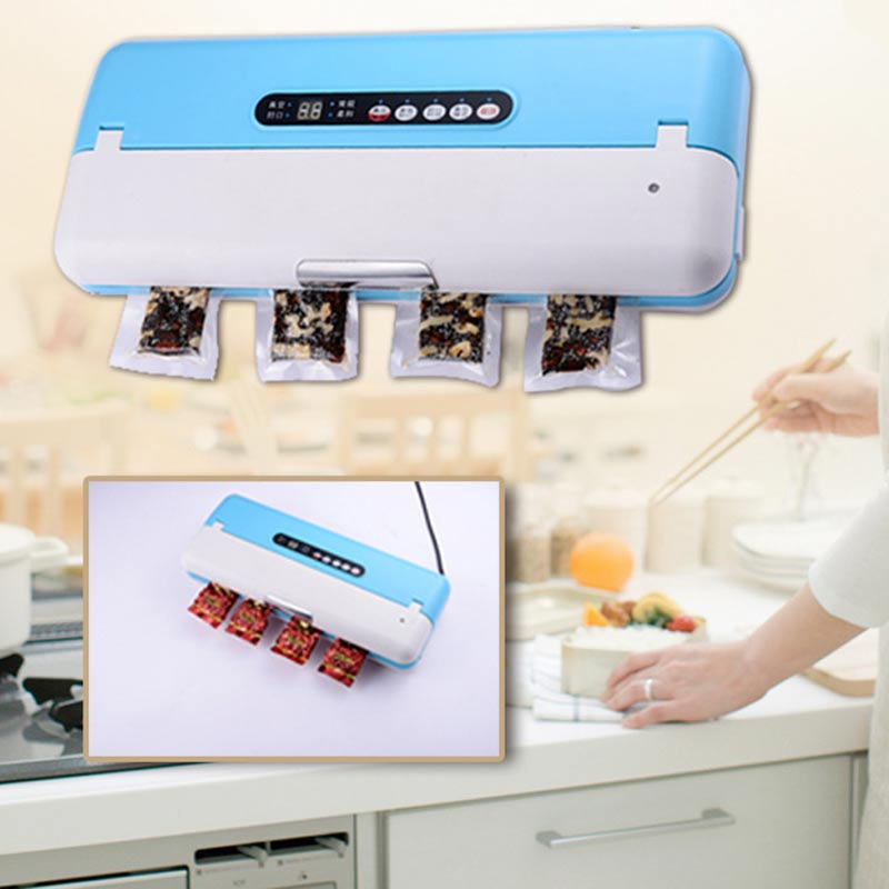 YTK Vacuum Sealer Best Fully Automatic Mini Portable Household Food Wet Dry 0.6 (Kw) 370*150*68mm Packaging Machine Sealing цена