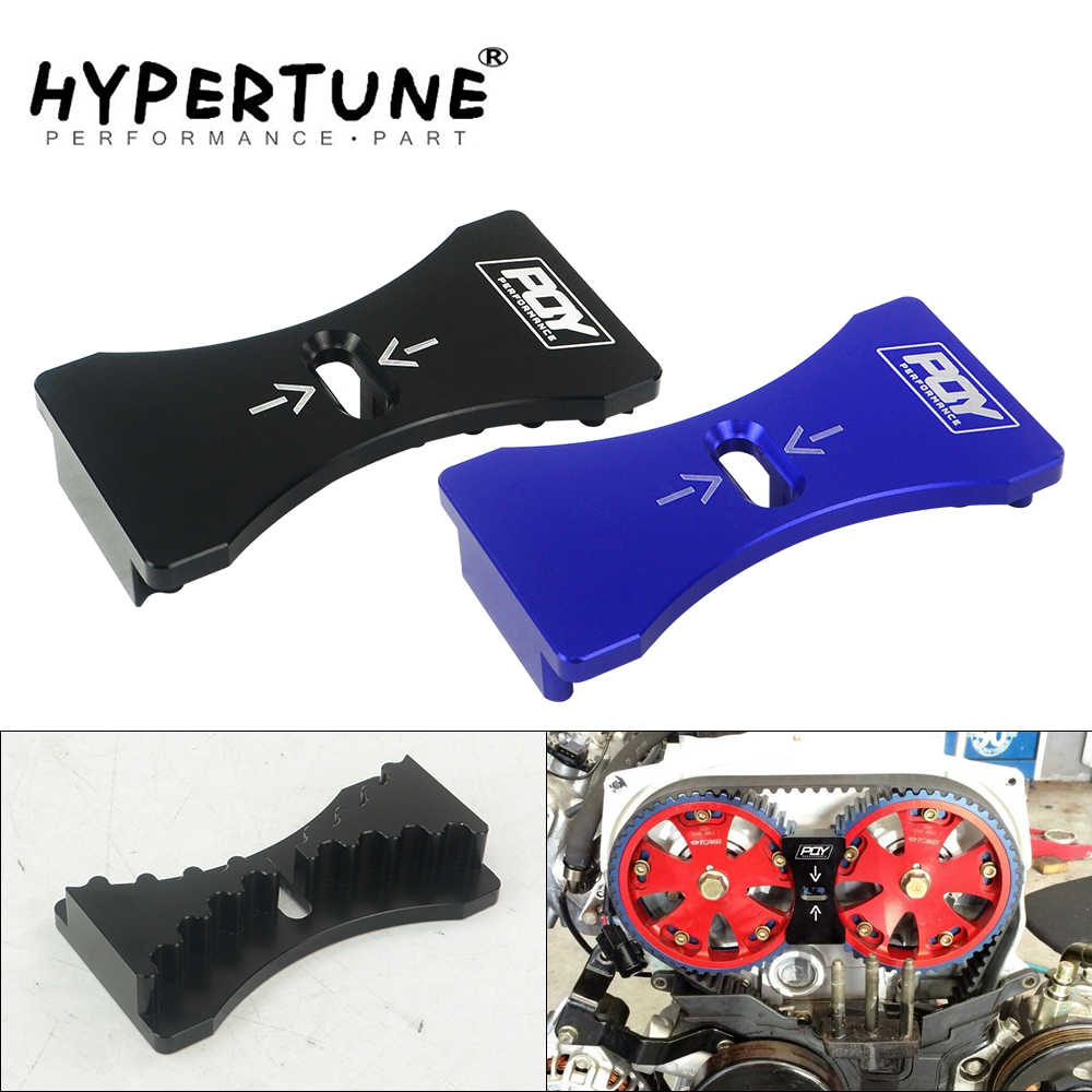 Hypertune - Aluminum Engine Cam Gear Lock Timing Belt Install For Mitsubishi Lancer 4G63 Dodge Kia  HT-CGL02