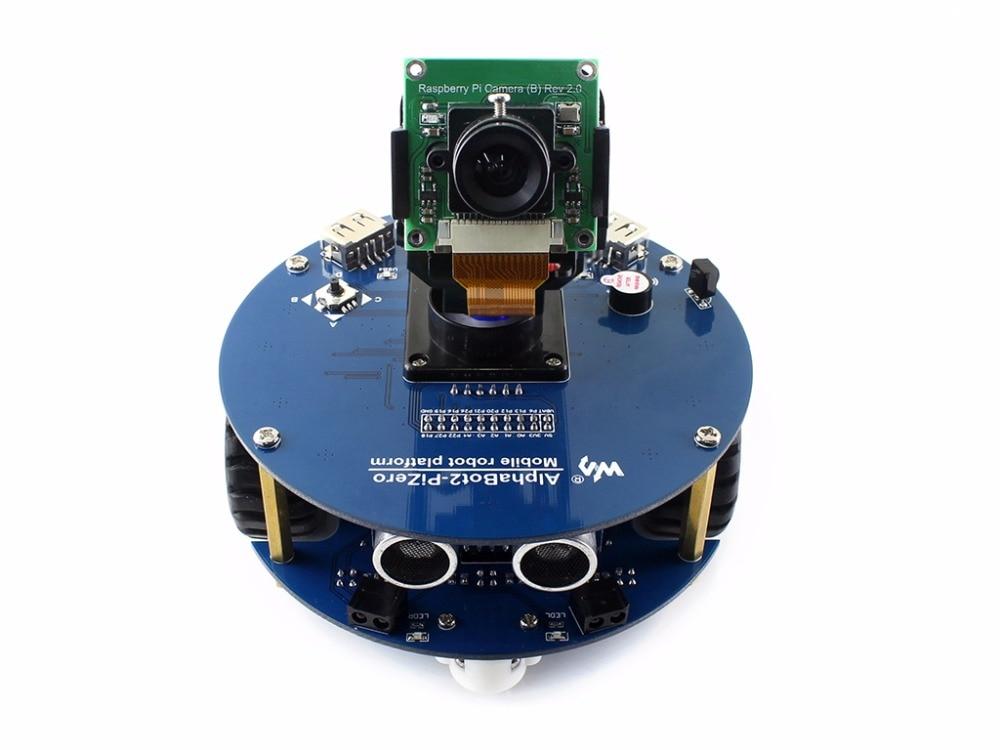 AlphaBot2 robot building kit for Raspberry Pi Zero/Zero W (no Pi) with rich common robot functions easy to assemble proffi films pfm009