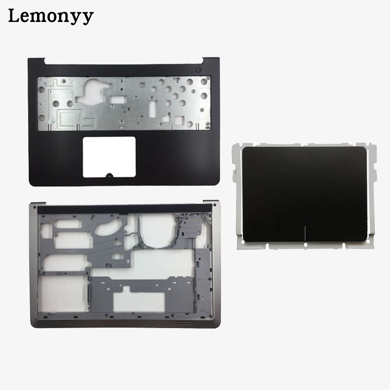 Neue Für Dell Inspiron 15-5000 5545 5547 5548 15 M Laptop Palmrest Ober fall + Basis Boden Abdeckung niedrigeren Fall + Touchpad DP/N 0WHC7T