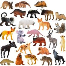 14 PCS/28 PCS Animal Model Simulate Wild for Kids Early Education