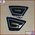 Envío libre nuevo y de alta calidad para GN 250 GN250 derecho e Izquierdo perfil lateral del marco paneles