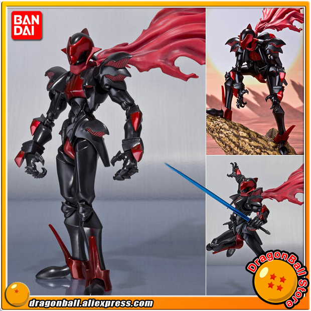 Japanese Anime Wild Arms 2 Original BANDAI Tamashii Nations D-Arts / SHF Toy Action Figure - Knight Blazer anime captain america civil war original bandai tamashii nations shf s h figuarts action figure ant man