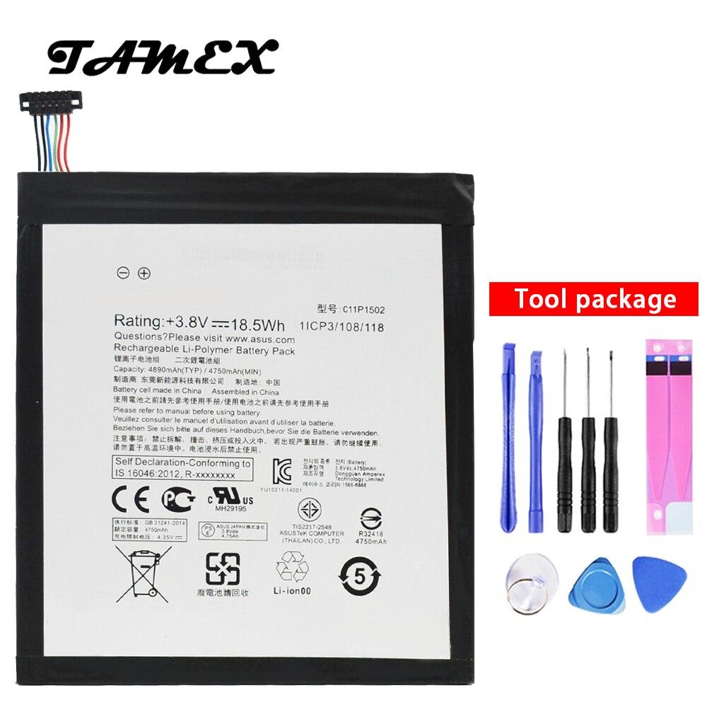 C11P1502 Haute Qualité batterie Pour ASUS ZENPAD 10 Z300C Z300CL Z300CG P023 P01T 10.1 4890 mah Li-ion Polymère Remplacement Batteria