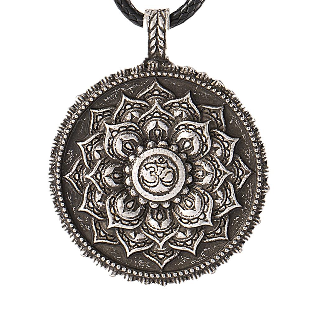 lanseis 1pcs 3D Lotus eyes moon pendant Prettiest women lotu Mandala ...