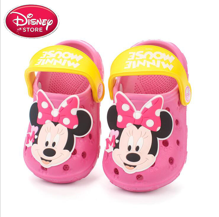 2019 Children Beach Minnie Sandals Disney Slippers Kids Boys Mickey Flip Flops Slip Slippers Drag