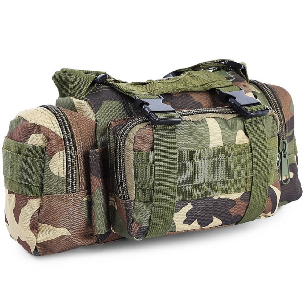 Outdoor 3L Military Tactical Waist Pack Waterproof Oxford Molle Camping Hiking Pouch Backpack Bag Waist Bags Hand Carry Pouch outlife new style professional military tactical multifunction shovel outdoor camping survival folding spade tool equipment