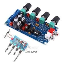 Mayitr HIFI Preamplifier Control Board 2 Channel NE5532 OP-AMP HIFI Preamp Preamplifier Volume Tone EQ Control Board Module assembeld hifi nac152 preamplifier board base on naim nac152xs preamp