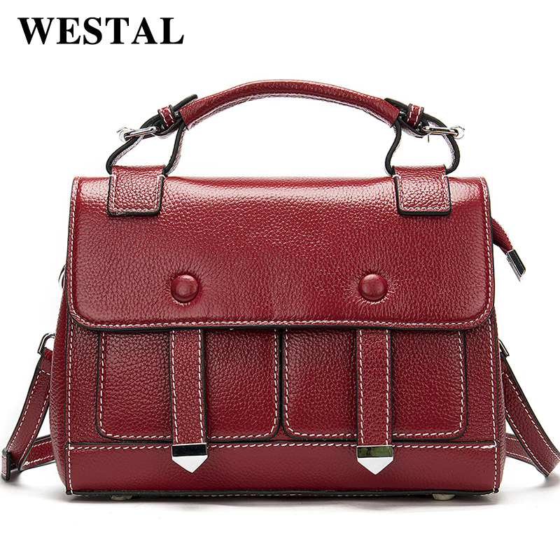 WESTAL Designer Luxury Handbags Women Bags Crossbody Bags for Women Handbags Female Leather Shoulder Bag Woman Messenger Bag 288