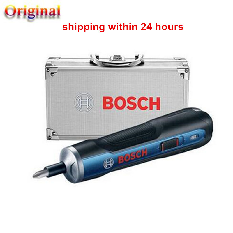 2019 New Power Tool For BOSCH GO Mini Electrical Screwdriver 3.6V Li-ion Battery Rechargeable Drill Aluminum Alloy Set Packaging