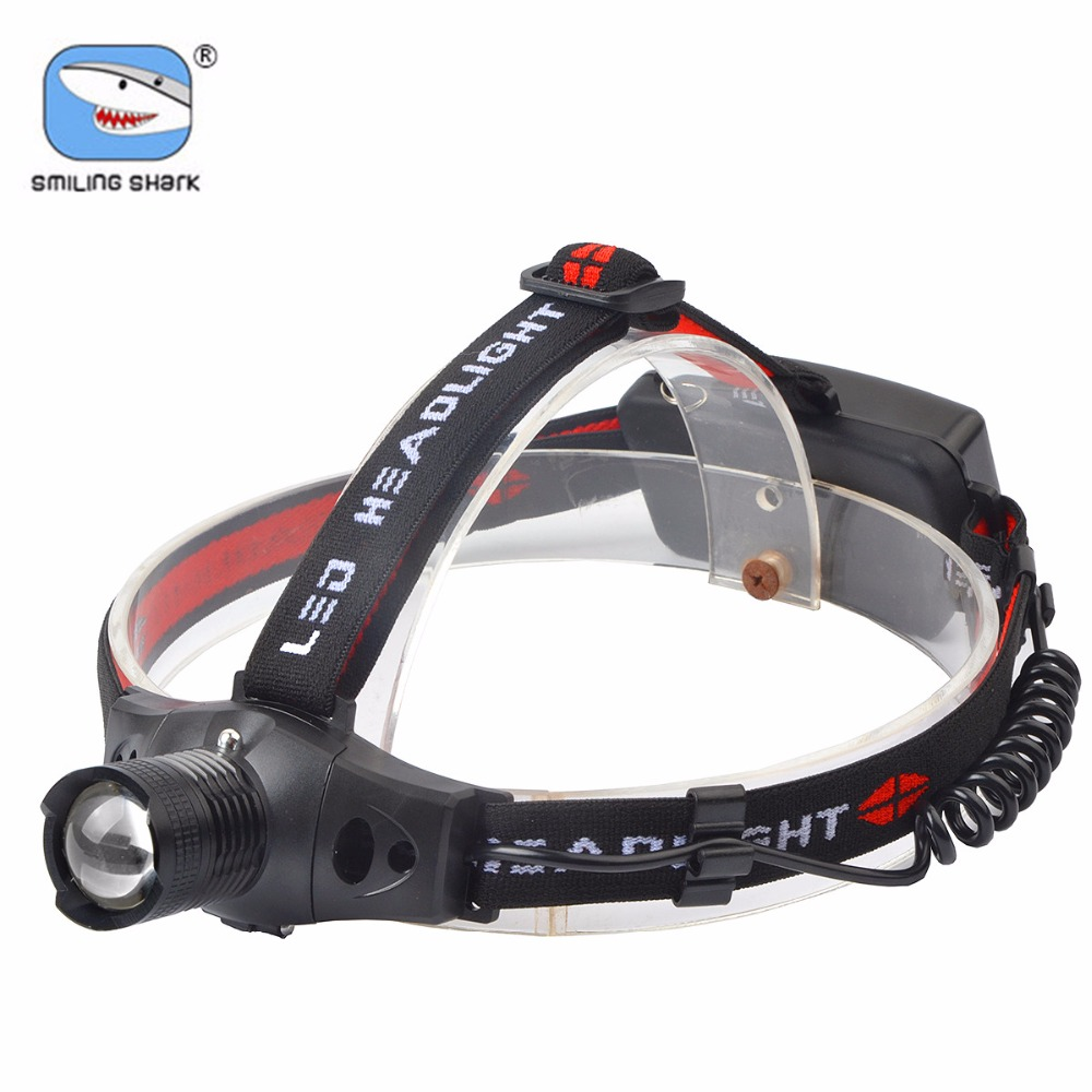 Brightest 500 Lumens Adjustable Focus Zoomable CREE Q5 LED Headlamp Flashlight, 3 Modes  ...