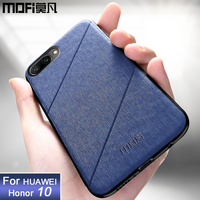 Funda MOFi original para Huawei honor 10  funda trasera de lujo para hombre  funda protectora rígida  funda para honor 10