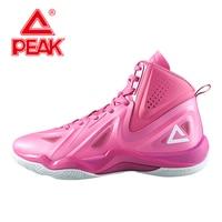 PEAK Professional Basketball Shoes Challenger 2 2 Men Women Basket Homme Tech Athletic Ankle Boots Breathable