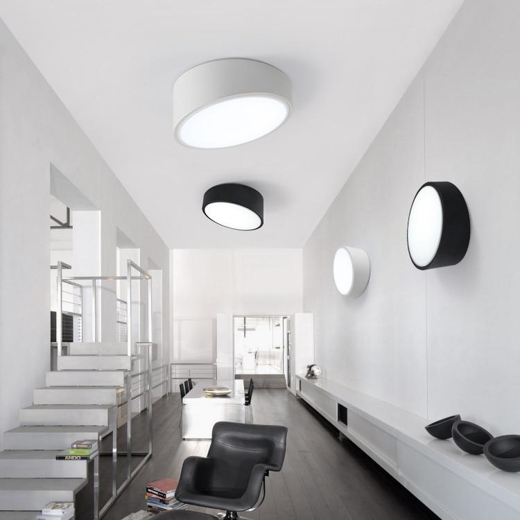 Moderne bureau lightin LED plafonniers créatif chambre salon hall d'entrée couloir balcon plafonniers ZA BG18|ceiling lights|ceiling lampliving room -