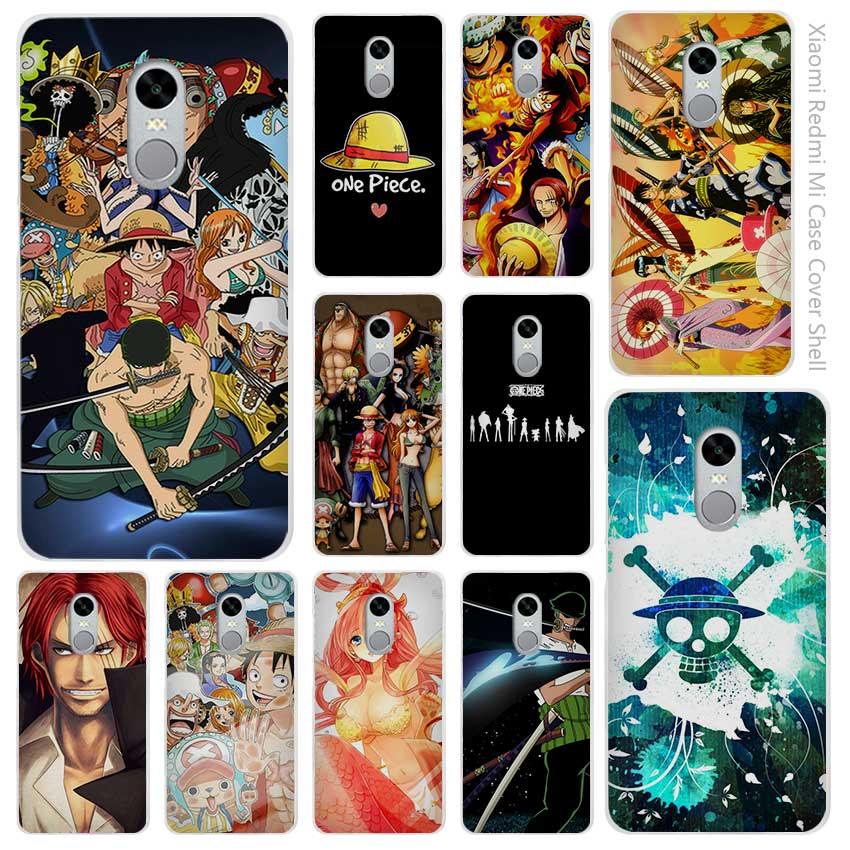 Hot Sale One Piece trafalgar Clear Cover Case Coque for Xiaomi Redmi Mi Note 3 3s 4 4A 4X 5 5S 5C 6 Pro