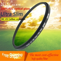 Nisi 72mm MC UV Filter Wide Band Lens Protector For Canon 85 1 2 35 1