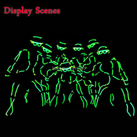 High Grade Attractive Neon Led Strip Handmade Chinese Got Talent Show Clothing Trendy EL Wire Cold