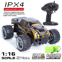 RC Car 1:16 Big Radio Controlled Cars Radio Machine Adjustable Speed Off Road Vehicles Drift Remote Control Cars For Kids