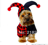 New Cute Dimensional Clown Play Clothes Pet Dogs Coat Free Shipping By China Post Dogs Clothes