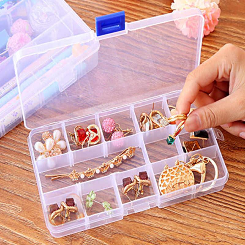 クリア収納ボックス透明なプラスチックハードプラスチック毎週ピル医学ボックスホルダー収納オーガナイザーコンテナケースポータブル