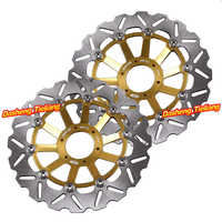 Роторы передних тормозных дисков для Honda CB600 HORNET 1998 1999 & CB400SF 2002 2004 & CB400 SUPER FOUR BOL DOR CB400SB 2005 & CB1 98 99