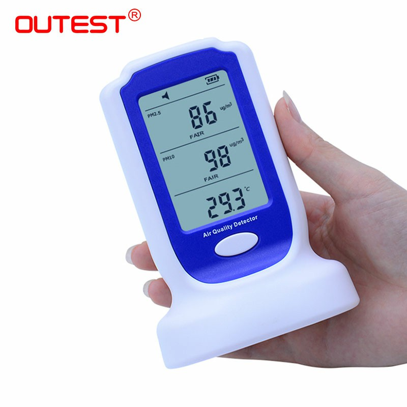 GM8803 Digital PM2.5 PM10 Gas analyzers Home indoor air quality pollution detector monitor sensor Rechargeable battery