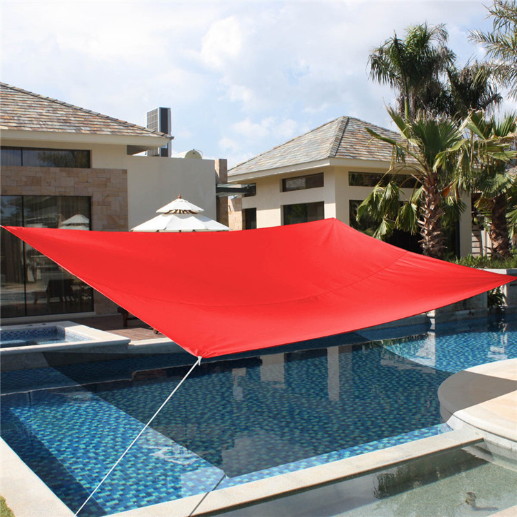 33m hot sale uv awning outdoor sun shade sail toldo courtyard pool shade net