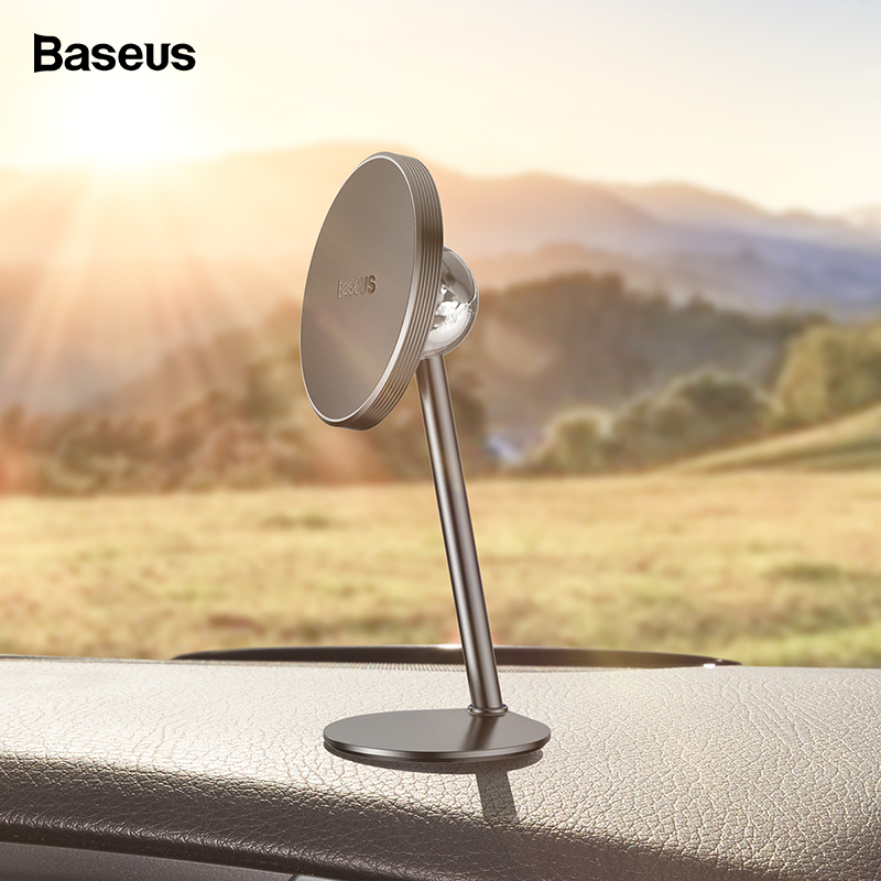 Baseus Magnetic Car Phone Holder For IPhone Samsung Xiaomi Magnet Mount Car Holder For Phone In Car Cellphone Smartphone Stand