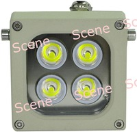 9W High power LED white light, LED floodlight , Visible LED lamp with Aluminum material & night vision light sources