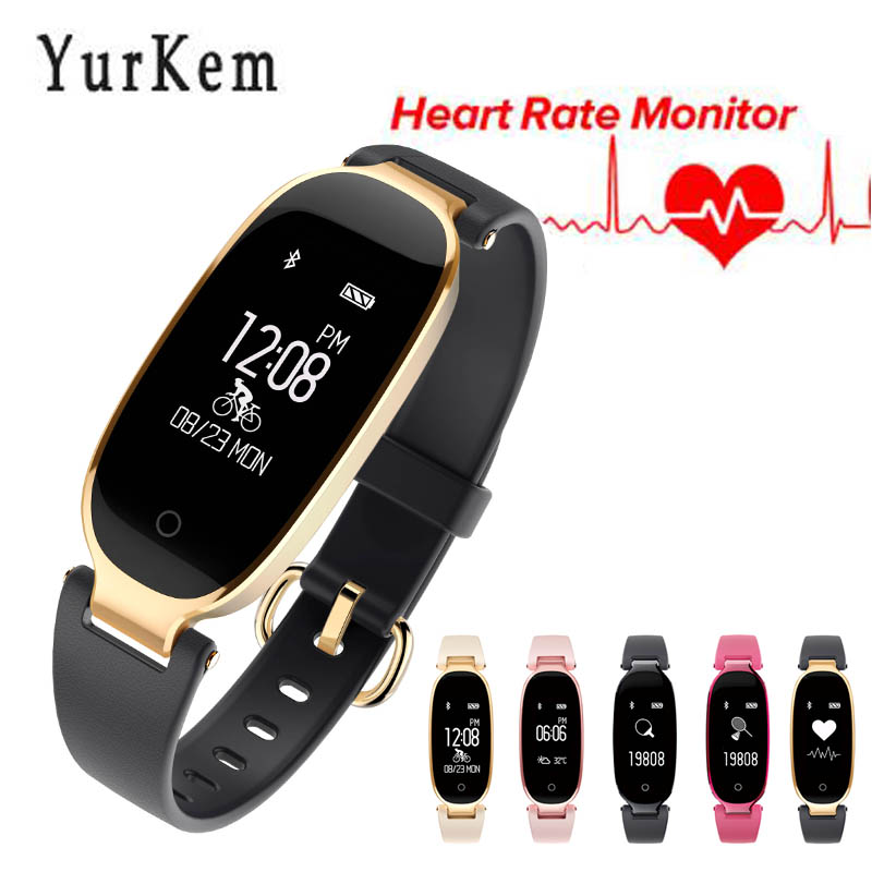 Smartwatch S3 Smart Watch Women Ladies Heart Rate Monitor Pedometer Fitness Band Bluetooth watch connected Android IOS Phone