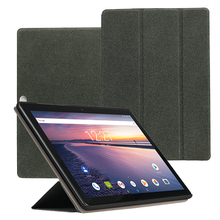 PU Leather Case For CHUWI Hi9 Air 10.1Tablet , Protective Case Cover For 2018 CHUWI Hi9 Air 10.1 + 2pcs Screen Film