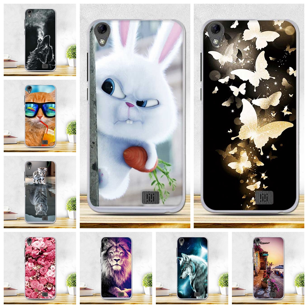 Silicon Patterned Cases For Coque Homtom HT16 Covers For Doogee Homtom HT16 Case Soft Cover For Homtom HT16 Silicone Case Cover