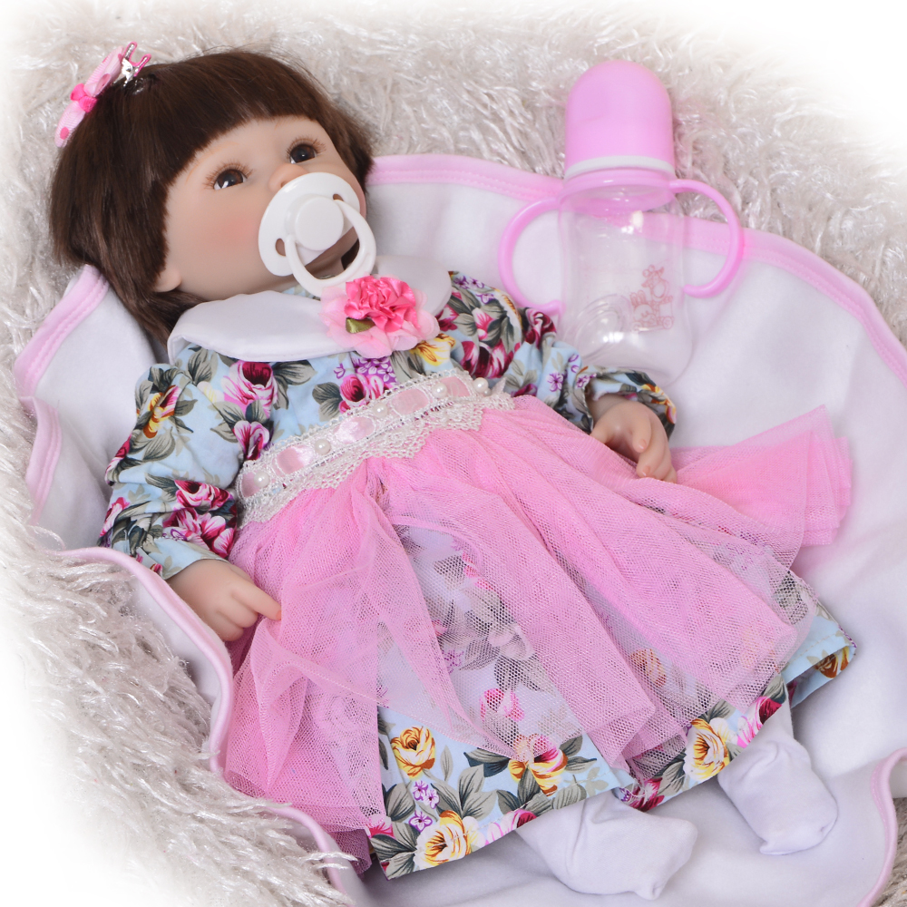 42cm reborn silicone toddlers Lifelike Bonecas Baby newborn realistic magnetic pacifier baby reborn dolls babies toy for sale42cm reborn silicone toddlers Lifelike Bonecas Baby newborn realistic magnetic pacifier baby reborn dolls babies toy for sale